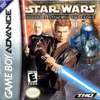 Star Wars Episode II Attack of the Clones (Complete) GBA Used