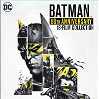 Batman 80th Anniversary Collection Blu-ray Used