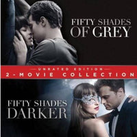 Fifty Shades 2 Movie Collection Blu-ray Used
