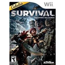 Cabela's Survival: Shadows of Katmai Wii Used