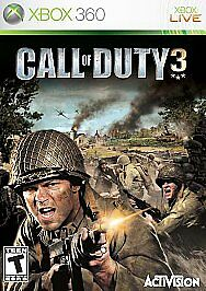 Call of Duty 3 Xbox 360 Used