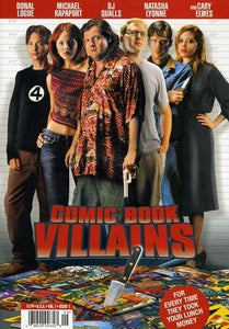 Comic Book Villains DVD Used
