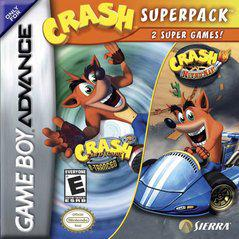 Crash Bandicoot Superpack (Cartridge Only) GBA Used