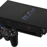 PS2 Console w/ 1 Controller and 1 Memory Card (Black) Used