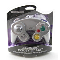 GameCube Contoller (Silver) (Teknogame Brand) New