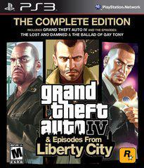 Grand Theft Auto IV Complete Edition PS3 Used