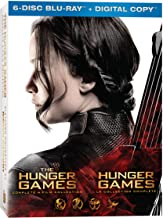Hunger Games 4 Film Collection Blu-ray Used