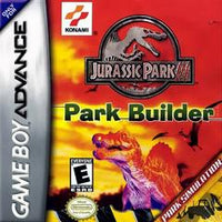 Jurassic Park III Park Builder (Cartridge Only) GBA Used