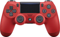 PS4 Controller (Red) (Sony Brand) Used