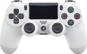 PS4 Controller (White) (Sony Brand) Used