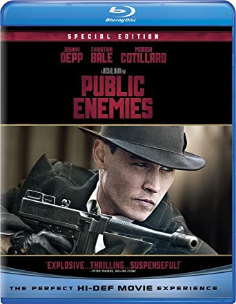 Public Enemies Blu-ray Used