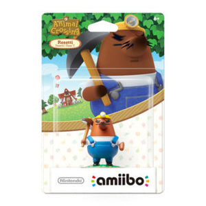 Resetti Animal Crossing Amiibo New