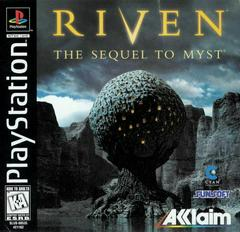 Riven: The Sequel to Myst (No Manual) PS1 Used