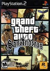 Grand Theft Auto San Andreas PS2 Used