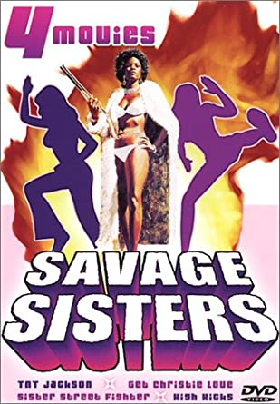 Savage Sisters 4 Movie Set DVD Used