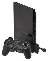 Slim PS2 Console w/ 1 Controller and 1 Memory Card (Black) Used