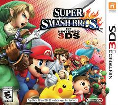 Super Smash Bros. for Nintendo 3DS - 3DS Used