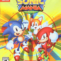 Sonic Mania Plus w/ Art Book Switch Used