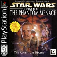 Star Wars Episode 1: The Phantom Menace PS1 Used