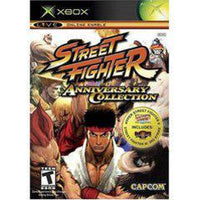 Street Fighter Anniversary Collection Xbox Original Used