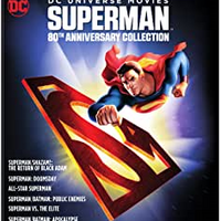 Superman 80th Anniversary Collection Blu-ray Used