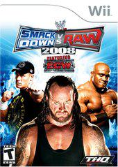 WWE Smackdown vs Raw 2008 Wii Used