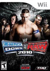 WWE Smackdown vs Raw 2010 Wii Used