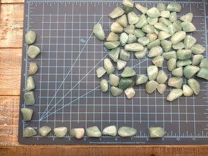 Green Averntine Tumbled Stone - Interiors in Balance