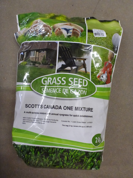 Grass Seed - Canada One Mixture 2kg