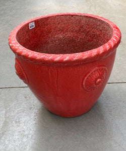 "Planter Howley Round 16"" Red"