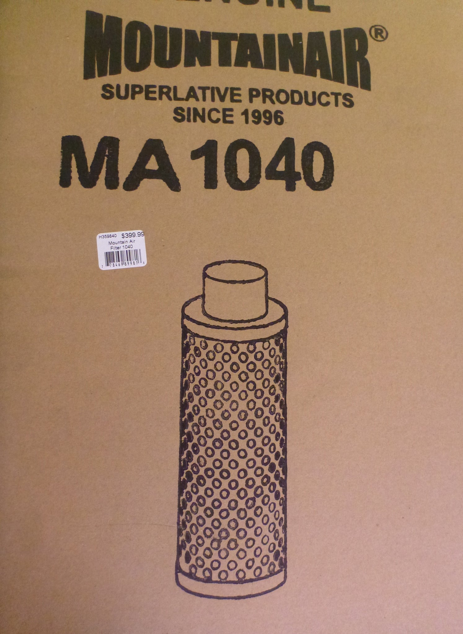 Mountain Air Filter 1040
