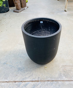 "Round Pot Dark Brown 17""x20"""