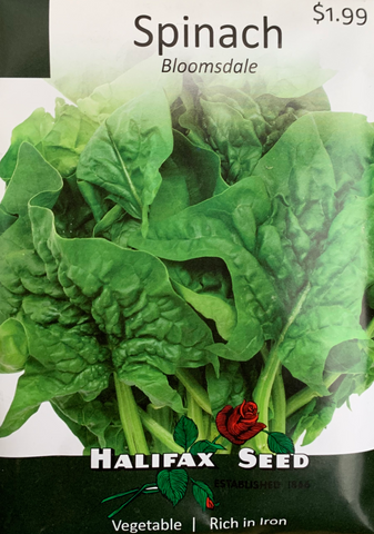 Halifax Seed Spinach Bloomsdale