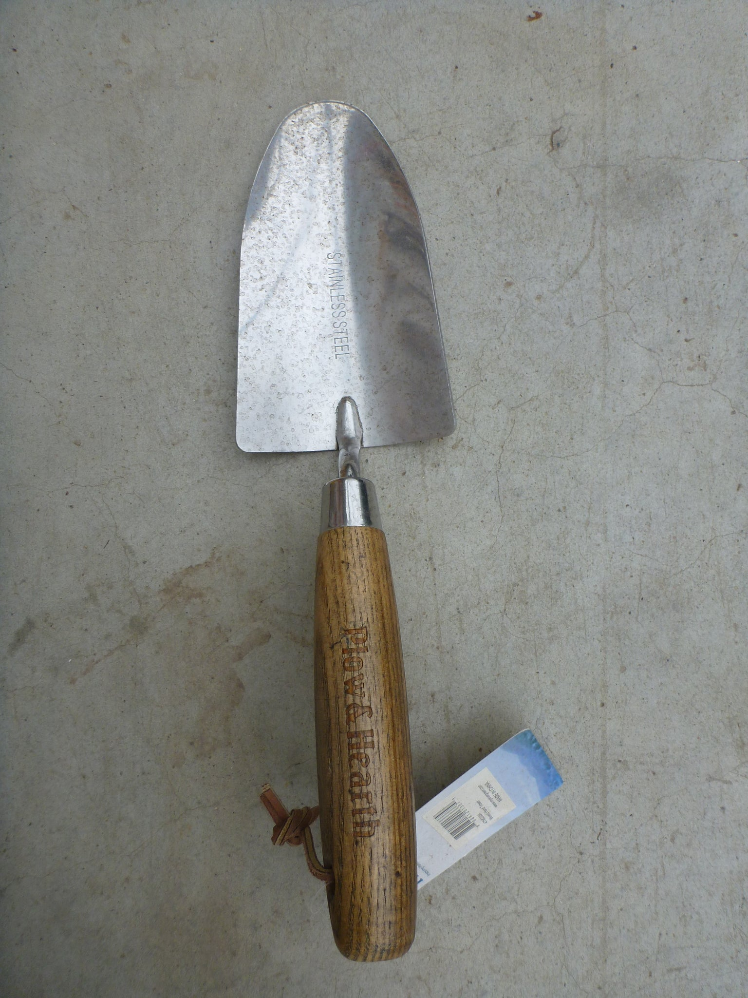 Hand Trowel - Wooden Handle