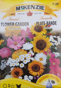 McKenzie Seeds Flower Garden Old Fashioned