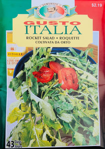 McKenzie Seeds Gusto - Rocket Salad