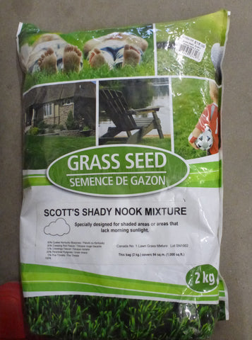 Grass Seed - Shady Nook Mixture 2kg