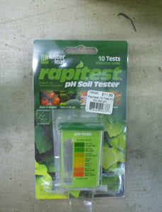 Rapitest 10-Test Kit For Soil pH