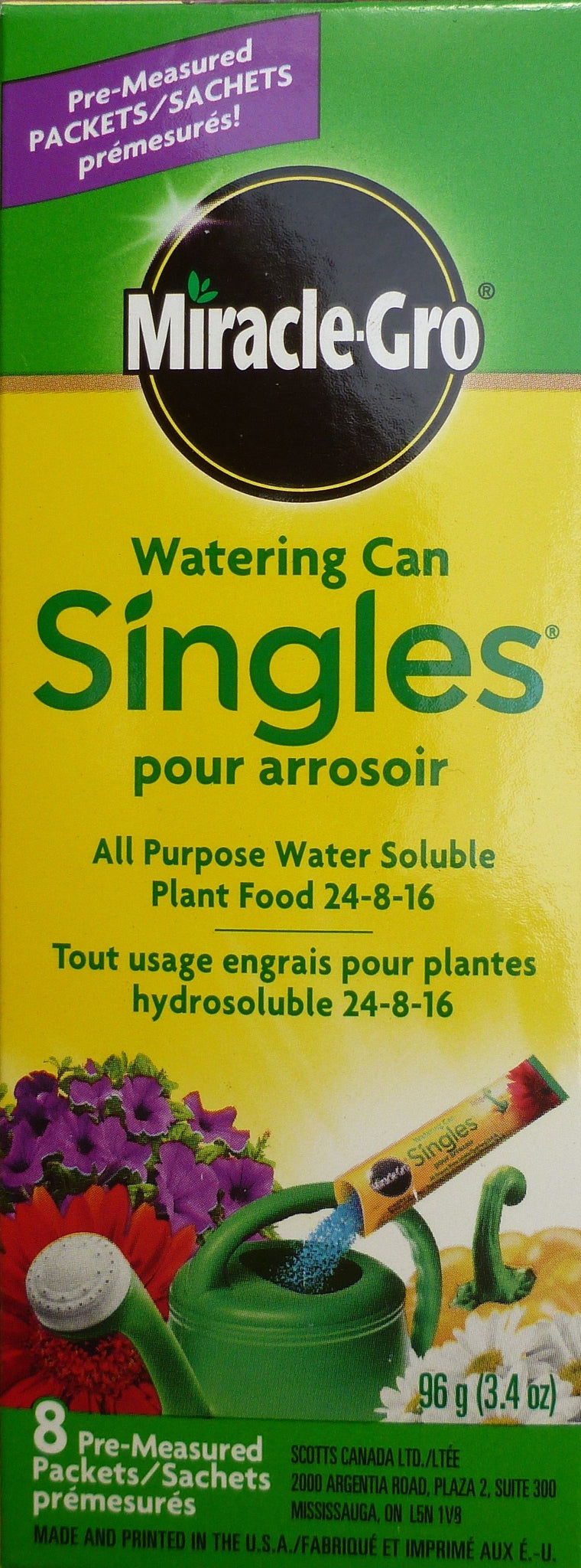MiracleGro - Watering Can Singles 96g