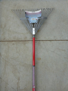 Contractor Grade Rake - Red Springback