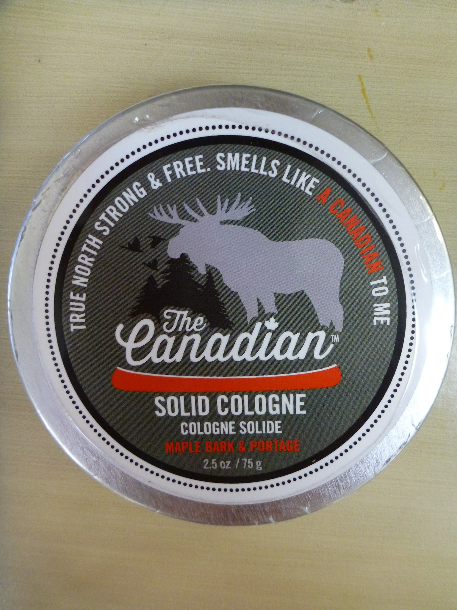 The Canadian Solid Cologne 2.5oz