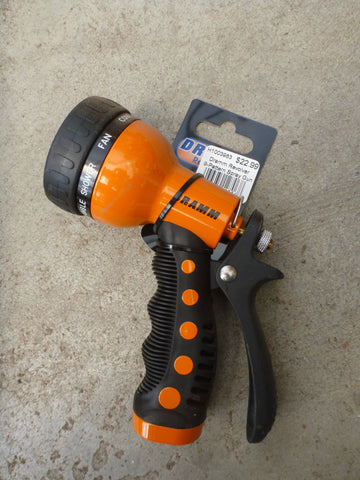 Dramm Revolver Nine Pattern Spray Gun - Orange