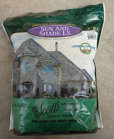 General Seed Co. - Sun and Shade Grass Seed 1kg