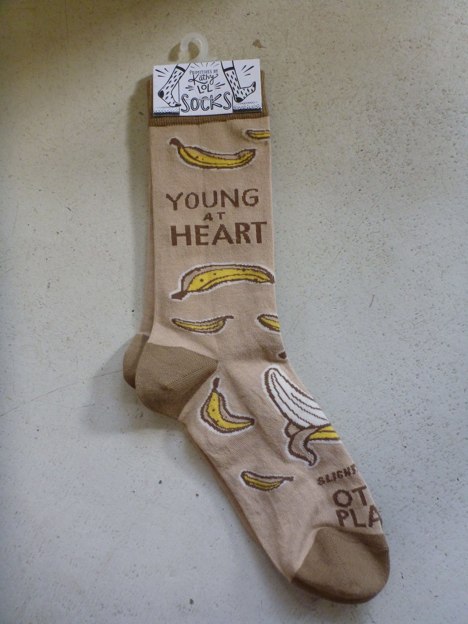 "Socks One Size Fits Most - ""Young At Heart"""