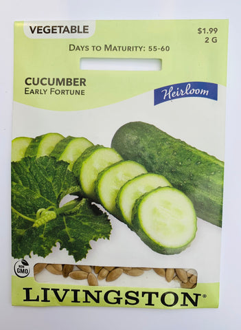 Livingston Seeds Cucumber - Early Fortune