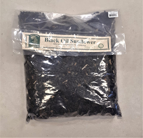 Black Oil Sunflower Bird Seed 5lb Bag