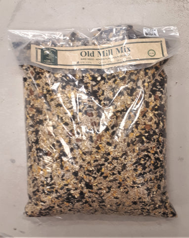 Old Mill Mix Bird Seed 10lb Bag