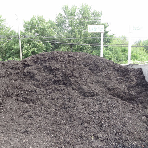 Black Mulch Fir & Spruce Mix BULK  *Pick-up only.