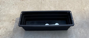 Window Box Futura Black 18""