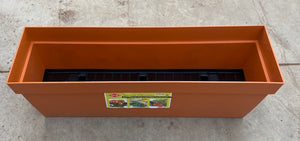 Window Box w/reservoir Terracotta 76cm/30""